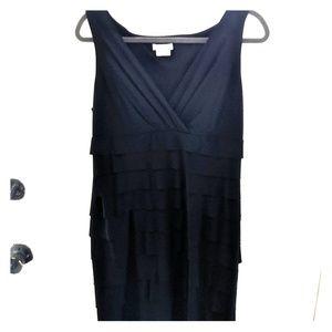 London Times black cocktail dress